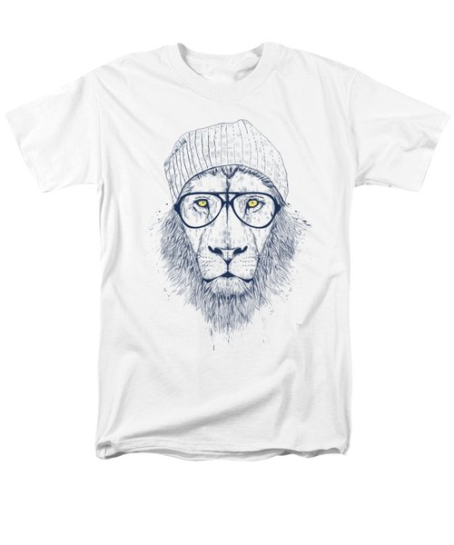Cool Lion Men's T-Shirt  (Regular Fit) by Balazs Solti