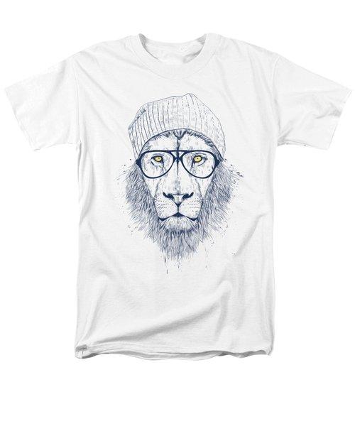 Cool Lion Men's T-Shirt  (Regular Fit)