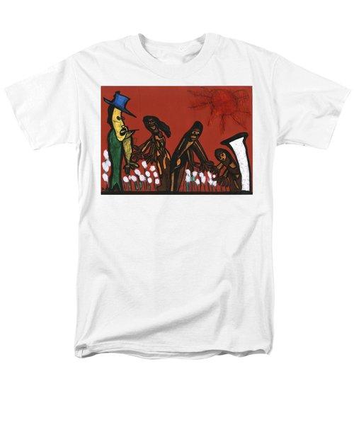 Cotton Pickers Men's T-Shirt  (Regular Fit) by Darrell Black