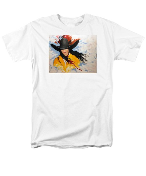 Cowgirl Colors #3 Men's T-Shirt  (Regular Fit) by Lance Headlee