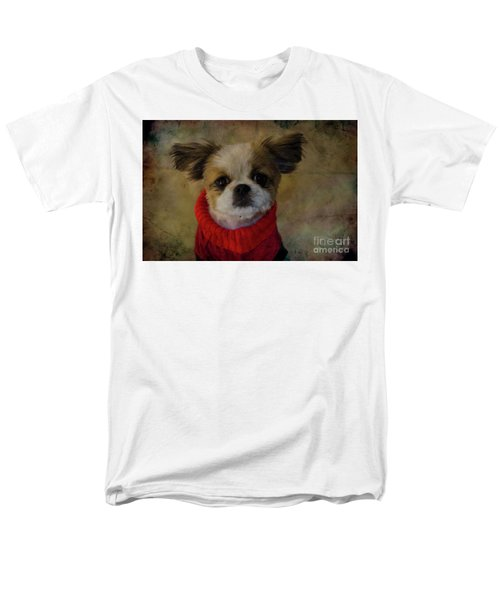 Cozy Sadie Men's T-Shirt  (Regular Fit) by Al Bourassa