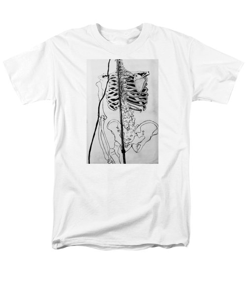 Crackling Bones Men's T-Shirt  (Regular Fit) by Jean Haynes