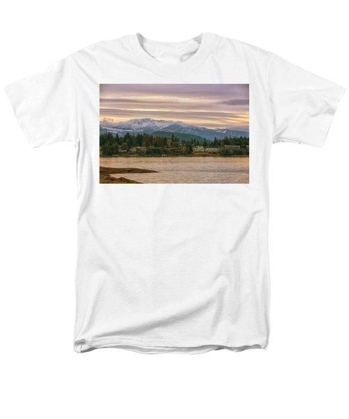 Craig Bay Men's T-Shirt  (Regular Fit) by Randy Hall