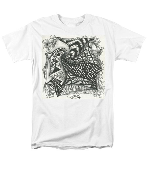 Crazy Spiral Men's T-Shirt  (Regular Fit) by Jan Steinle