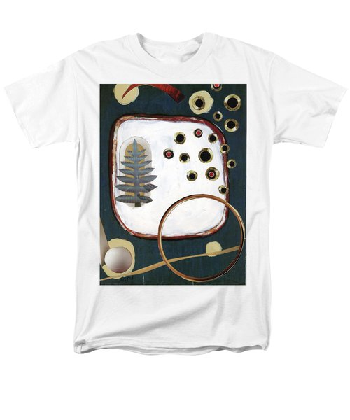 Men's T-Shirt  (Regular Fit) featuring the painting Creation by Michal Mitak Mahgerefteh