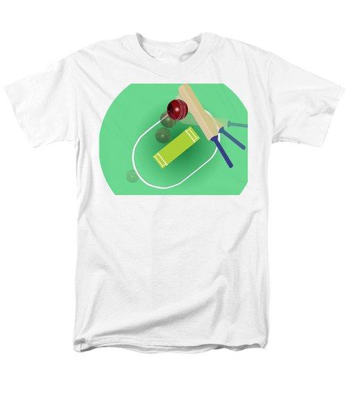Cricket Men's T-Shirt  (Regular Fit) by Smita Kadam