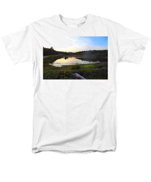 Crooked Lake Road Men's T-Shirt  (Regular Fit) by Jason Lees