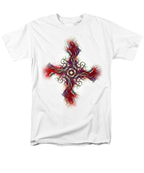 Cross Of Nature Men's T-Shirt  (Regular Fit) by Anastasiya Malakhova
