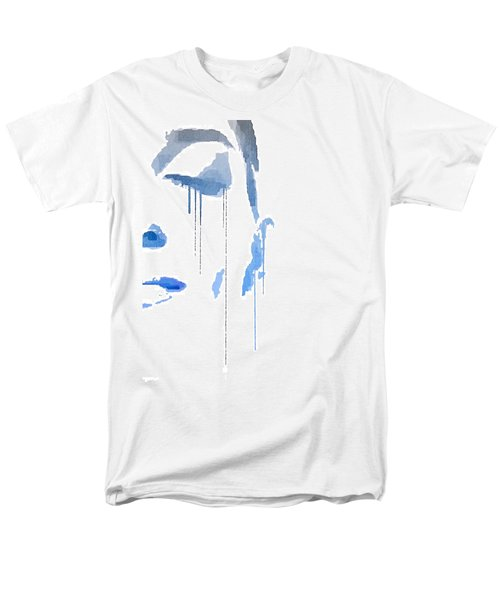 Crying In Pain Men's T-Shirt  (Regular Fit) by ISAW Gallery