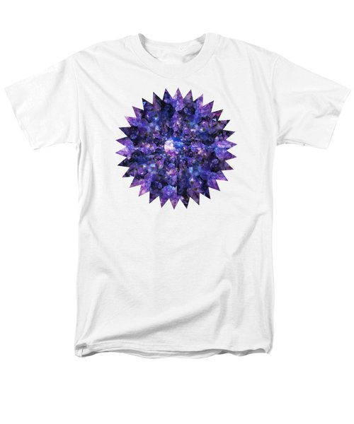 Men's T-Shirt  (Regular Fit) featuring the photograph Crystal Magic 1 by Leanne Seymour