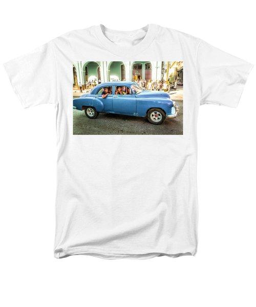 Cuban Taxi Men's T-Shirt  (Regular Fit)
