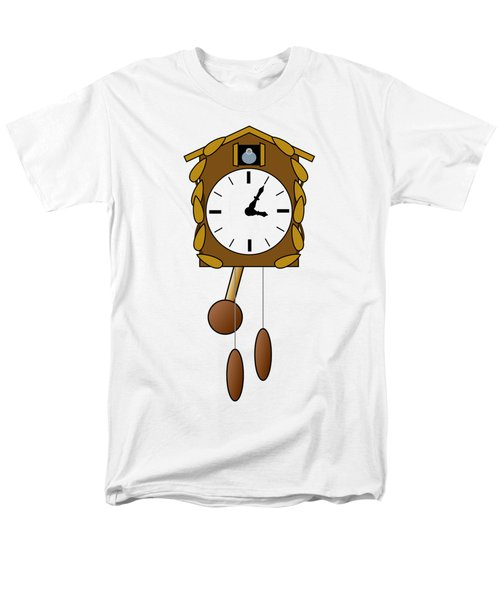 Cuckoo Clock Men's T-Shirt  (Regular Fit) by Miroslav Nemecek