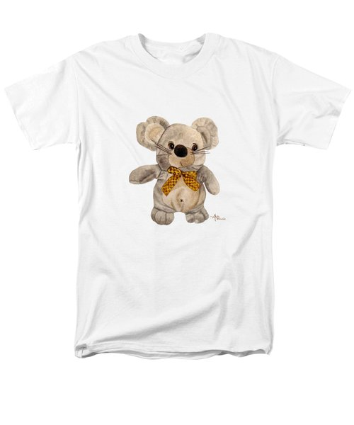 Cuddly Mouse Men's T-Shirt  (Regular Fit) by Angeles M Pomata