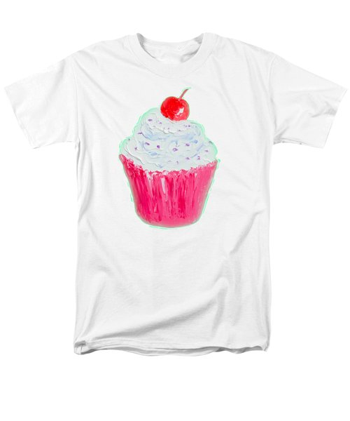 Cupcake Painting Men's T-Shirt  (Regular Fit) by Jan Matson