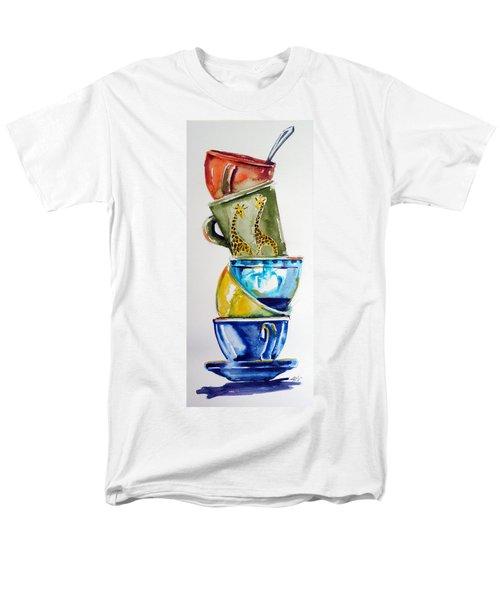 Cups Men's T-Shirt  (Regular Fit)