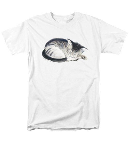 Curl Up Men's T-Shirt  (Regular Fit) by Melly Terpening
