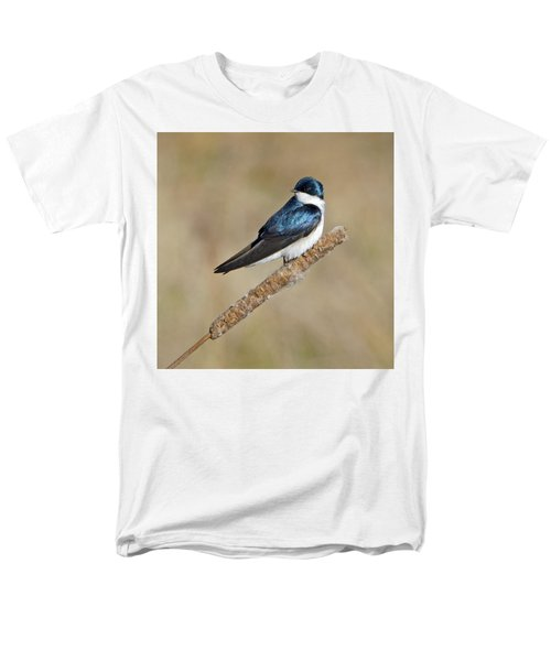 Cushy Perch Men's T-Shirt  (Regular Fit) by Stephen Flint