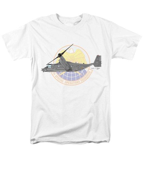 Cv-22b Osprey 7sos Men's T-Shirt  (Regular Fit) by Arthur Eggers