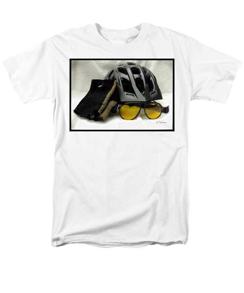 Men's T-Shirt  (Regular Fit) featuring the photograph Cycling Gear by James C Thomas