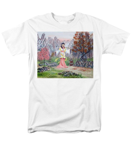 Men's T-Shirt  (Regular Fit) featuring the painting Dai Yuu by Anthony Lyon