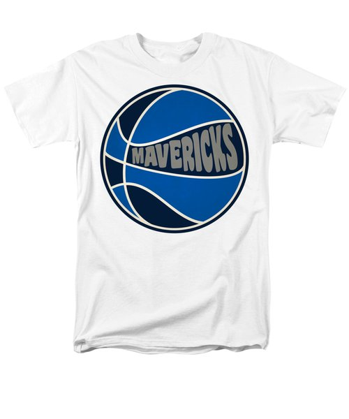 Dallas Mavericks Retro Shirt Men's T-Shirt  (Regular Fit) by Joe Hamilton