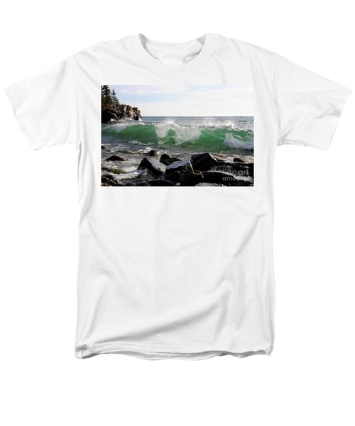 Dancing Waves Men's T-Shirt  (Regular Fit) by Sandra Updyke
