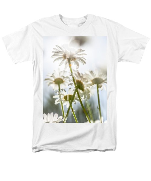 Men's T-Shirt  (Regular Fit) featuring the photograph Dancing With Daisies by Aaron Aldrich