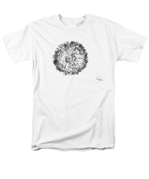 Dandelion Men's T-Shirt  (Regular Fit) by Ludwig Keck