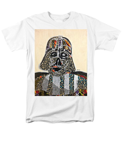 Men's T-Shirt  (Regular Fit) featuring the tapestry - textile Darth Vader Star Wars Afrofuturist Collection by Apanaki Temitayo M