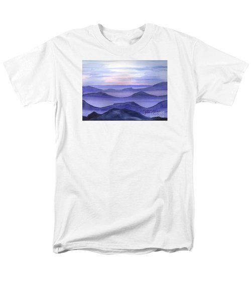 Men's T-Shirt  (Regular Fit) featuring the painting Day Break by Yolanda Koh
