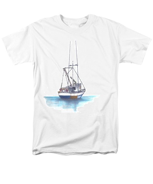 Men's T-Shirt  (Regular Fit) featuring the drawing Days End by Terry Frederick