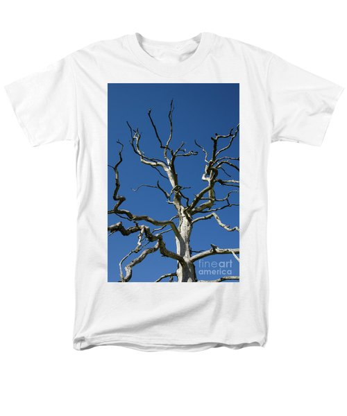 Dead Oak Tree Men's T-Shirt  (Regular Fit) by Kennerth and Birgitta Kullman