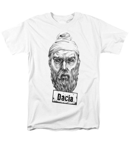 Decebal Men's T-Shirt  (Regular Fit) by Marius Sipa