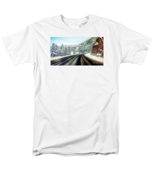 December Drive 4 Men's T-Shirt  (Regular Fit) by Janie Johnson