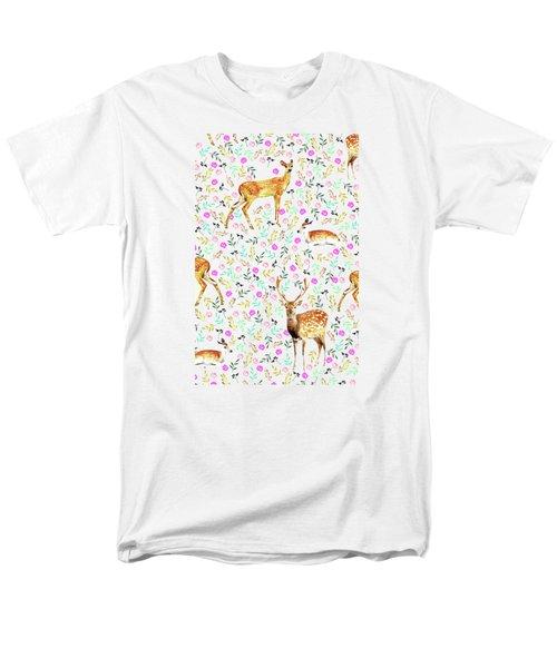 Deers Men's T-Shirt  (Regular Fit) by Uma Gokhale