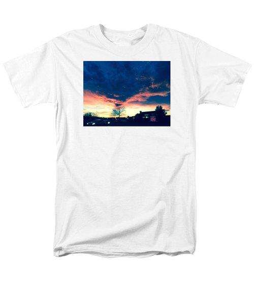 Dense Sunset Men's T-Shirt  (Regular Fit) by Angela Annas