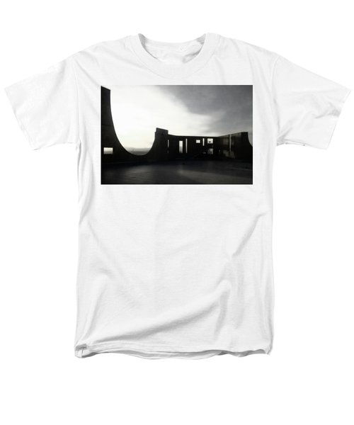 Men's T-Shirt  (Regular Fit) featuring the photograph Denver Art Museum Ponti 2 by Marilyn Hunt