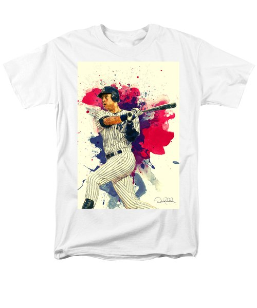 Derek Jeter Men's T-Shirt  (Regular Fit) by Taylan Apukovska
