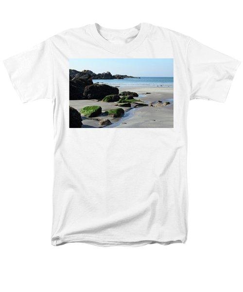 Derrynane Beach Men's T-Shirt  (Regular Fit) by Marie Leslie