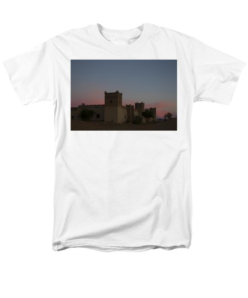 Desert Kasbah Morocco 2 Men's T-Shirt  (Regular Fit) by Kathy Adams Clark