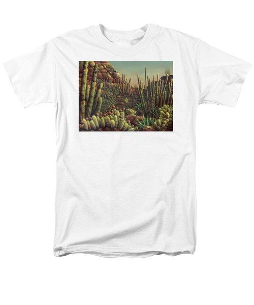 Desert Potpourri  Men's T-Shirt  (Regular Fit) by James Larkin