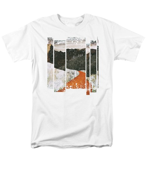 Desert Snow Men's T-Shirt  (Regular Fit) by Katherine Smit