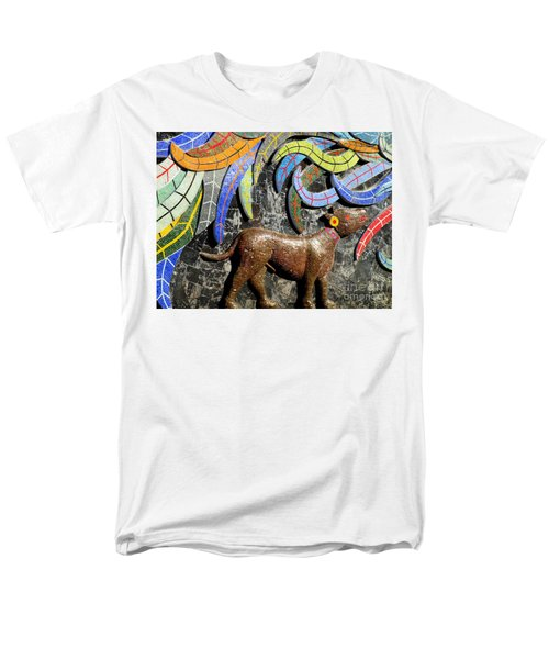 Diego Rivera Mural 4 Men's T-Shirt  (Regular Fit) by Randall Weidner