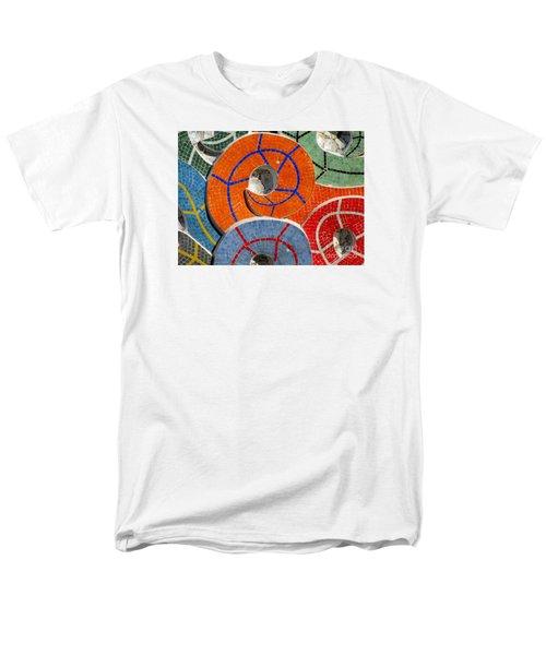 Diego Rivera Mural 8 Men's T-Shirt  (Regular Fit) by Randall Weidner