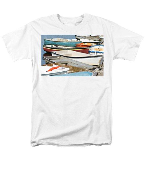Dinghys At Bearskin Neck Men's T-Shirt  (Regular Fit) by Joe Faherty