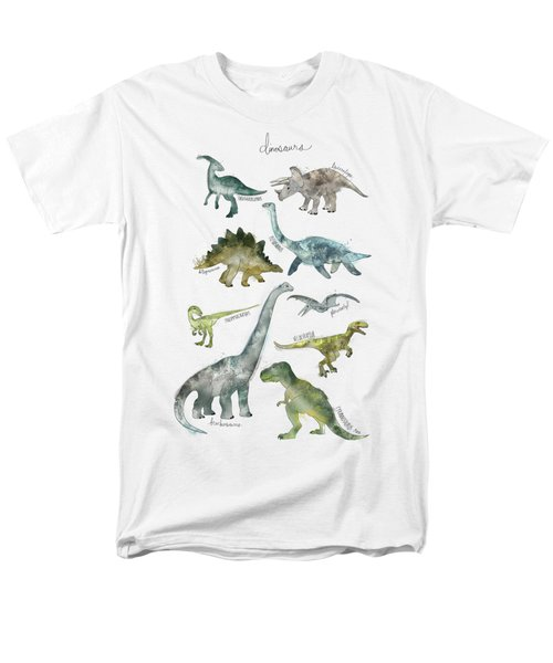 Dinosaurs Men's T-Shirt  (Regular Fit) by Amy Hamilton