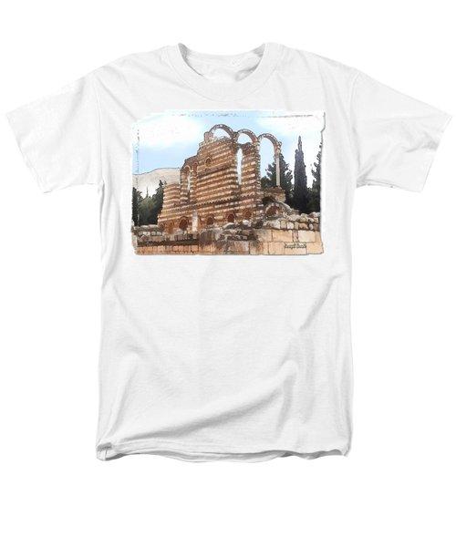Do-00302 Ruins In Anjar Men's T-Shirt  (Regular Fit) by Digital Oil