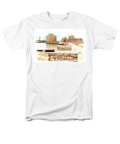 Do-00423 Citadel Of Sidon Men's T-Shirt  (Regular Fit) by Digital Oil