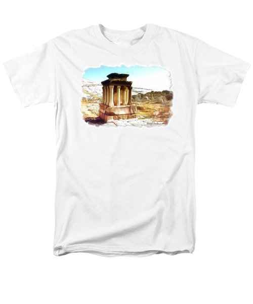 Do-00432 The Temple Of Faqra Men's T-Shirt  (Regular Fit) by Digital Oil