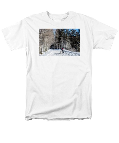Do They Sell Snow Tires For Bikes Men's T-Shirt  (Regular Fit) by Carol M Highsmith